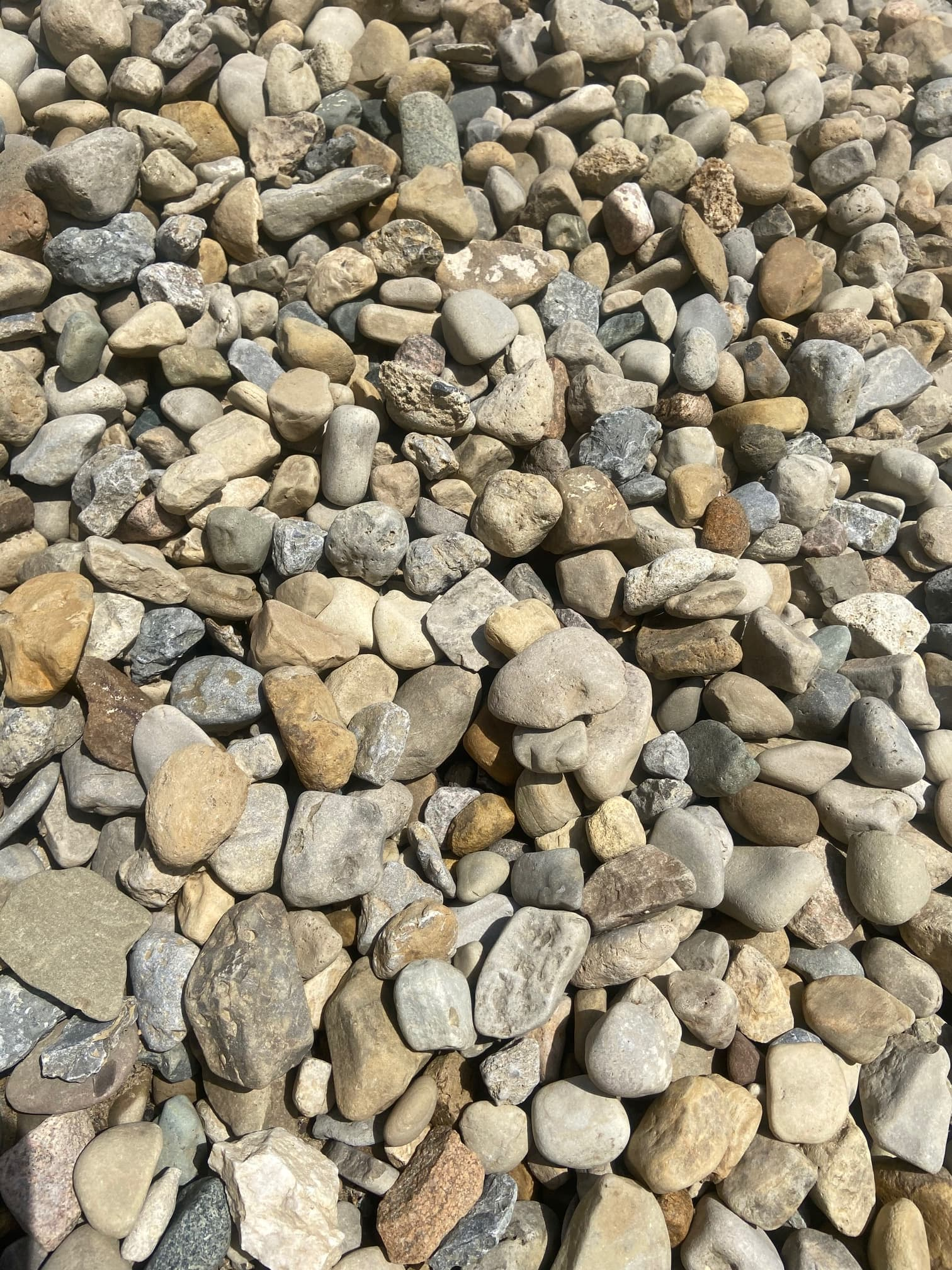 Extra Small River Rock Ohio Green Works Llc Professional Landscape Services Supply